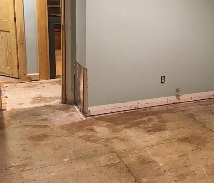 Water Damage in Central Maine home After